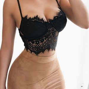 Other - Black Lace Bralette